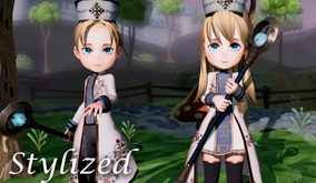 【Stylizedシリーズ】Priestアセット販売開始!
