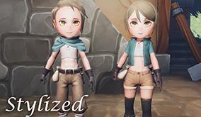 【Stylizedシリーズ】Thiefアセット販売開始!