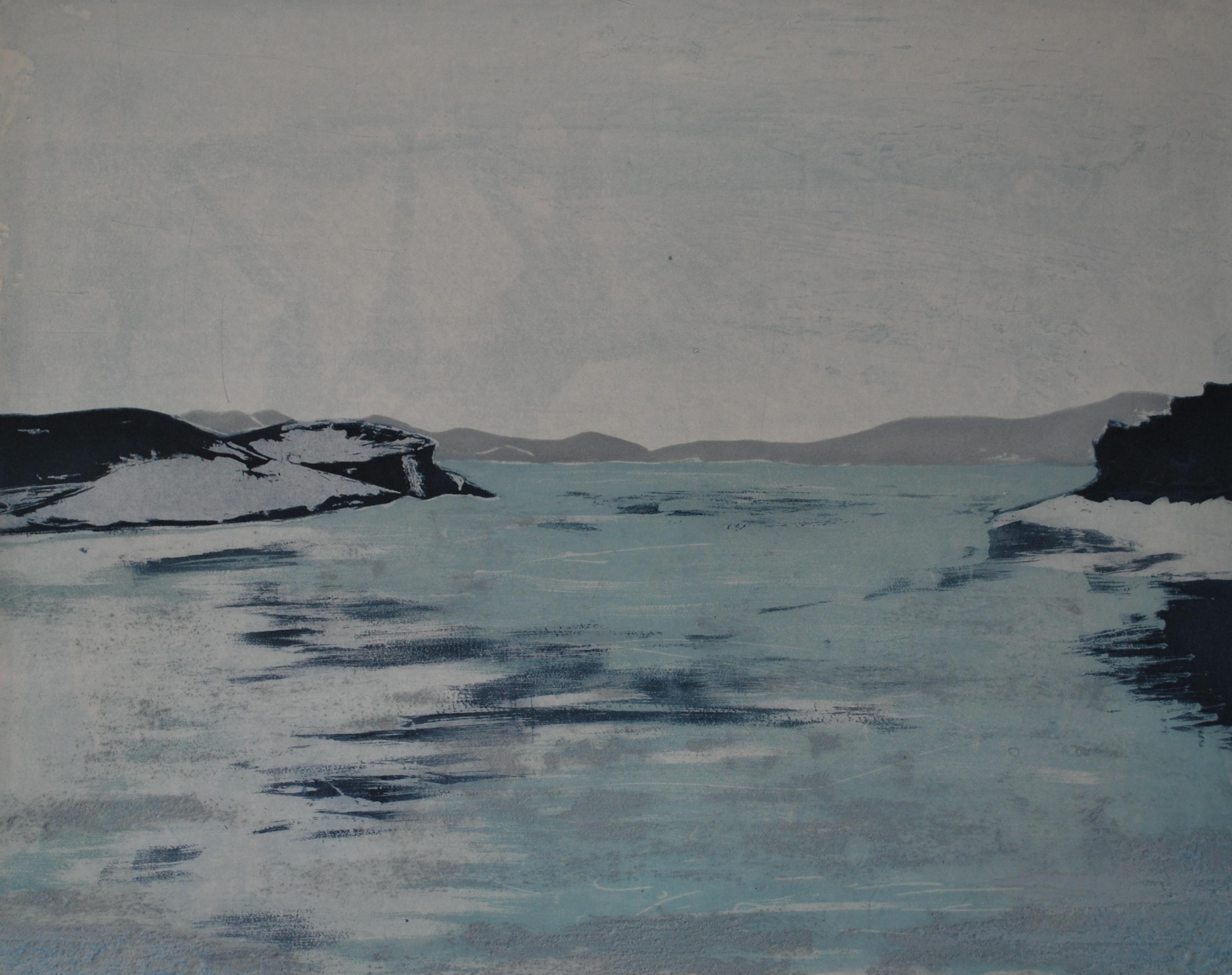 Blue Blue Landscape