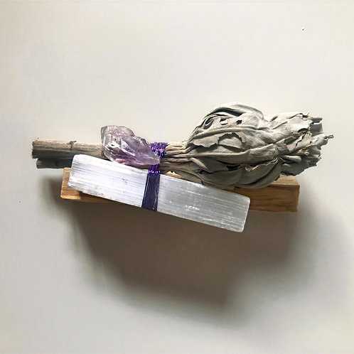 Reiki Amethyst Cleansing Kit