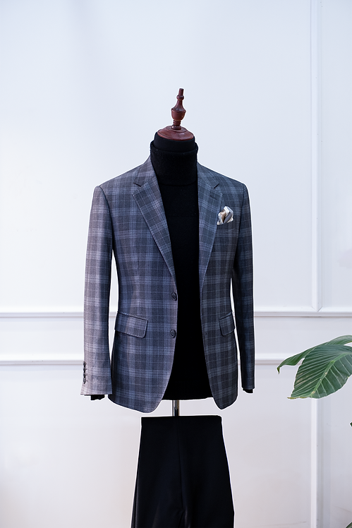 RTW Dark Grey Check Jacket