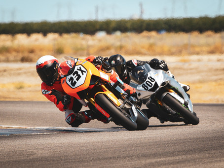 Racing with CRA at Buttonwillow