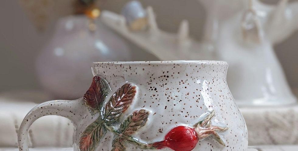 Rosehip Cauldron Mug