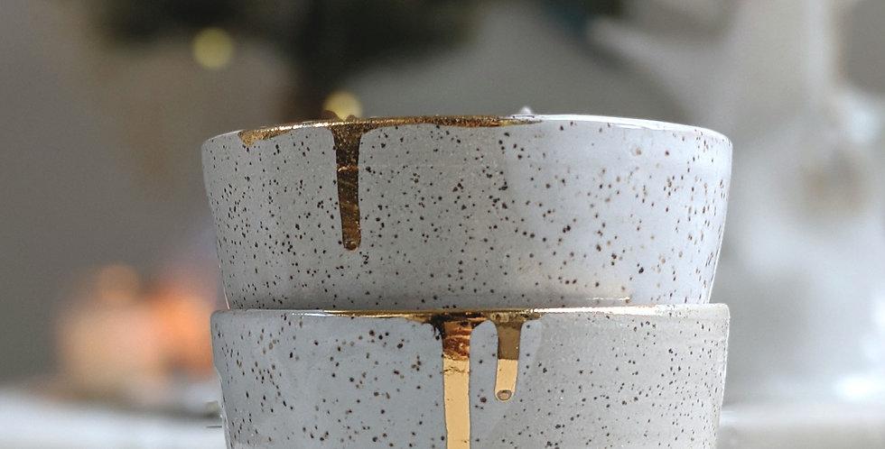 White Pebble Cup Set