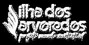 Logo escrito Ilha dos Arvoredos - Projeto Mundo Sustentável