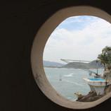 Fotografia tirada de dentro do navio, onde aparece a Fênix.JPG