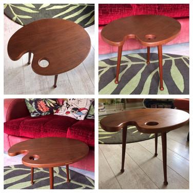 Mid Century Pallette Table