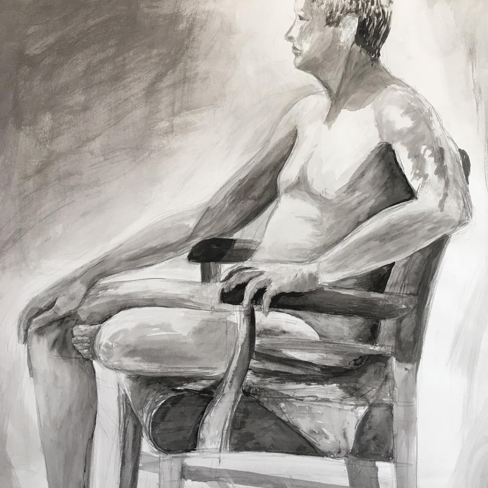Nude Figure II