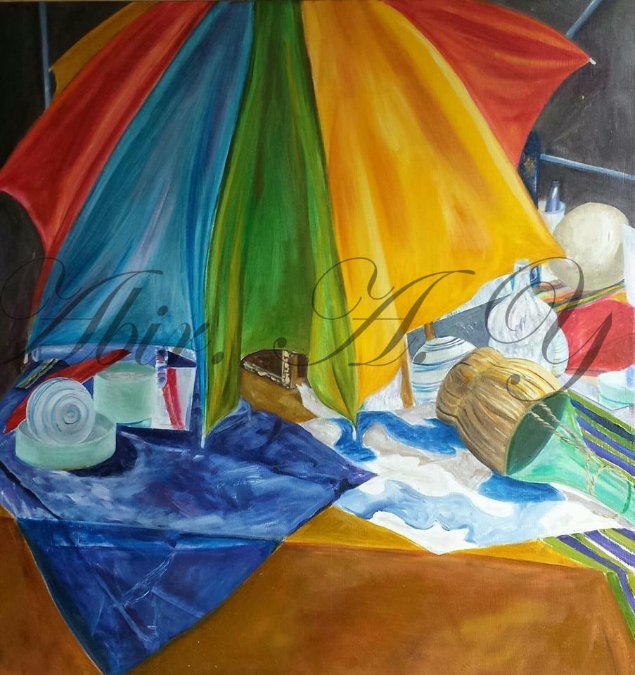 Still Life with an Umbrella