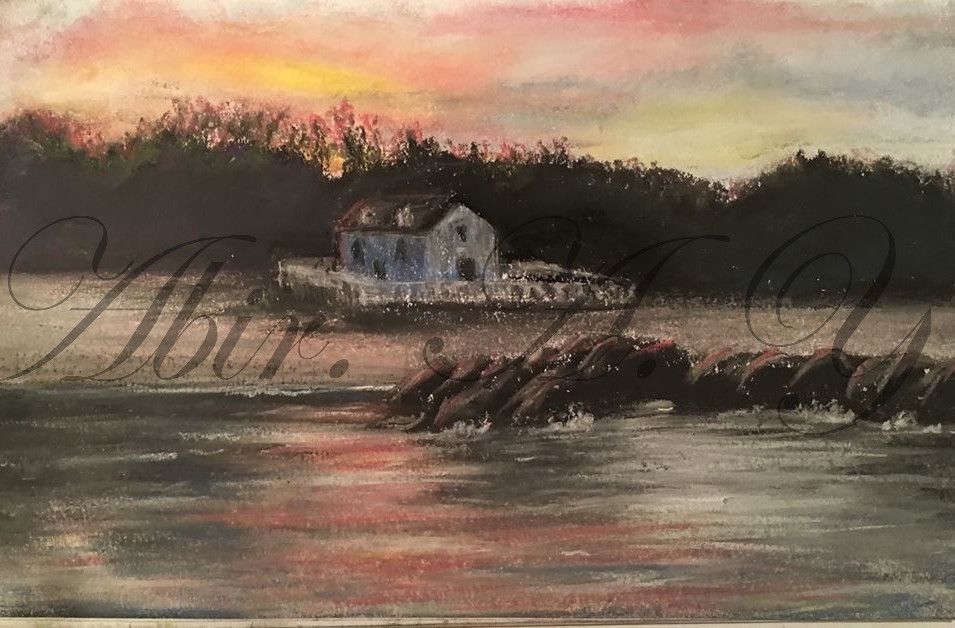 Sunset at Yorktown