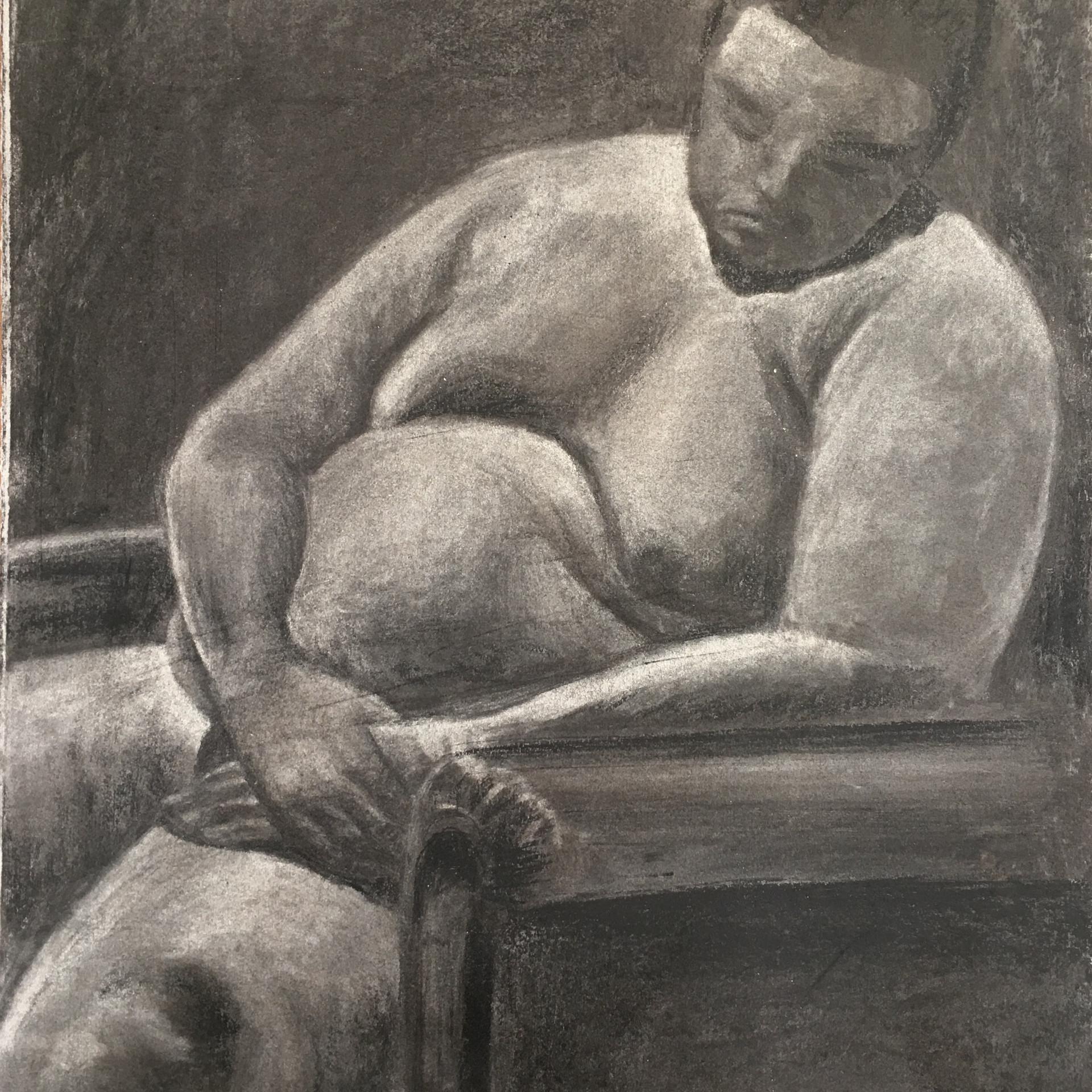 Nude Figure I (study of the human body).