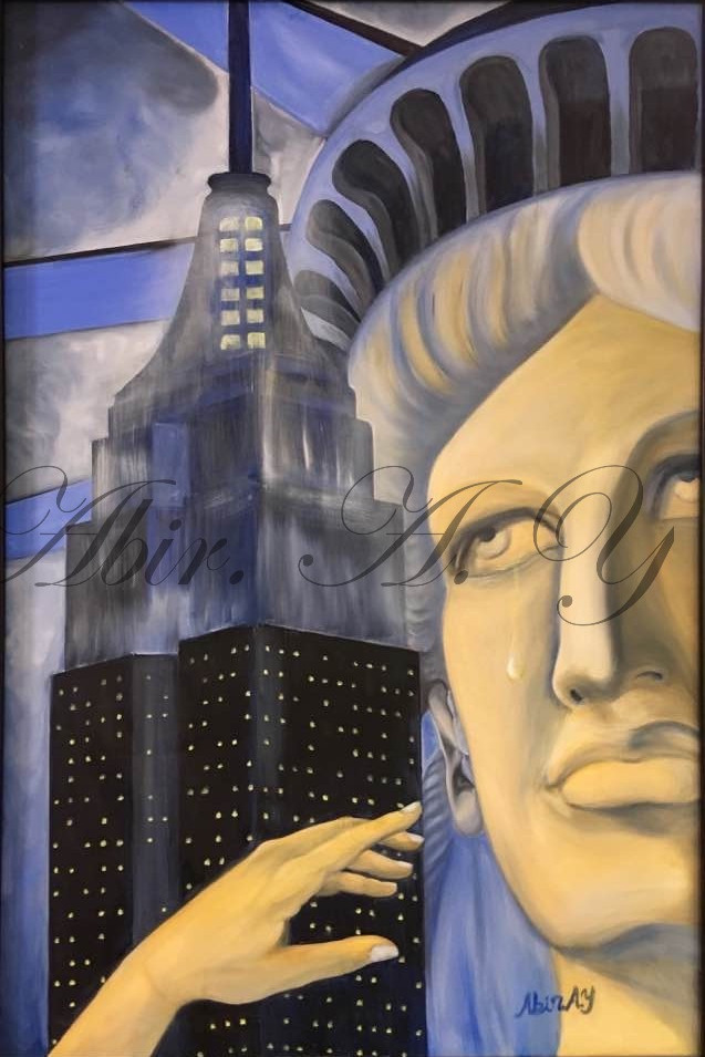 Self Portrait (Miss Liberty)
