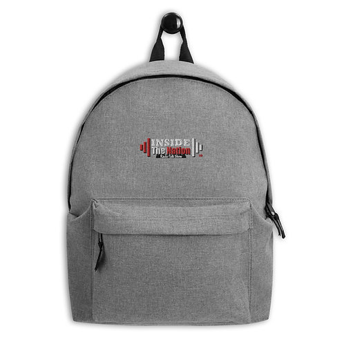 Inside The Nation Embroidered Backpack