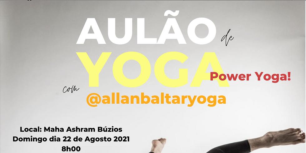 Aulão de Power Yoga com Allan Baltar