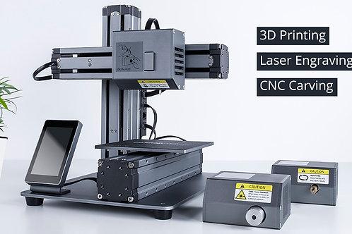 Snapmaker : All metal 3 in 1 3D printer ( 3D프린터, CNC, Laser 3개 기능이 하나로! )