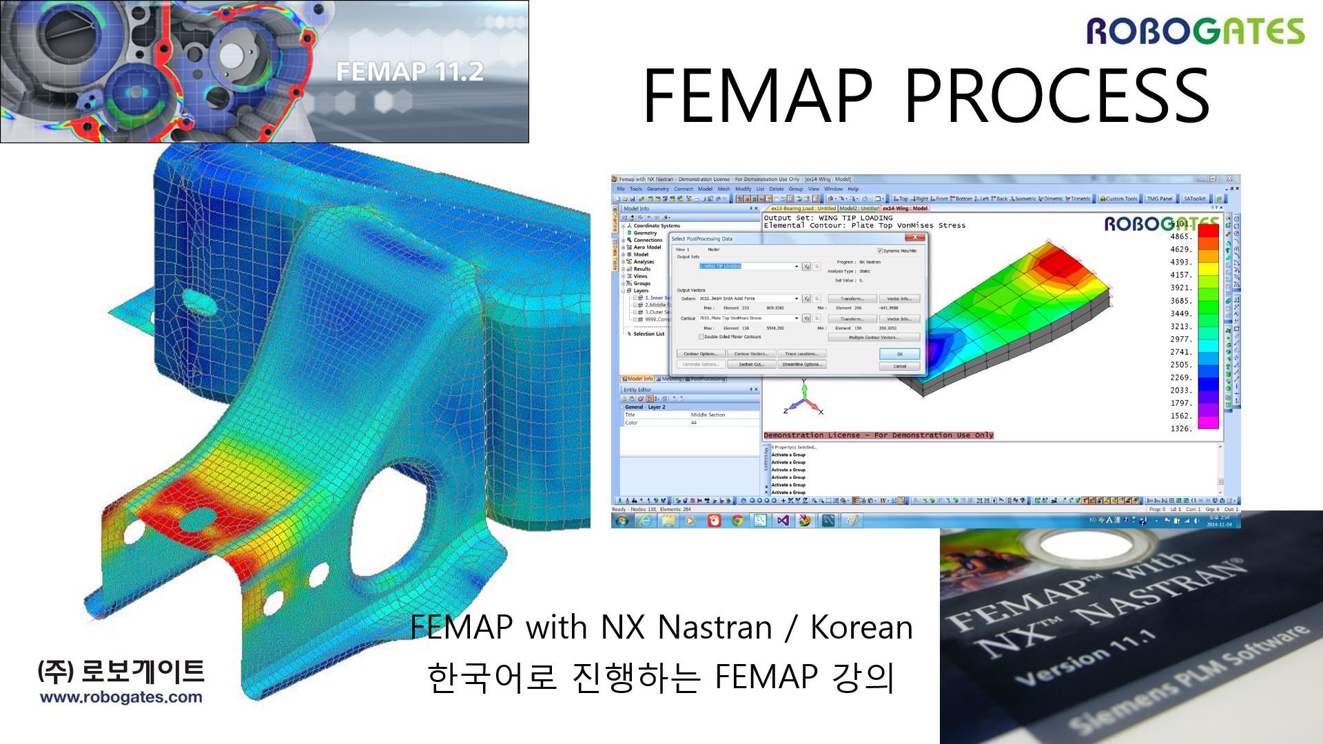 FEMAP Flow CFD 강좌