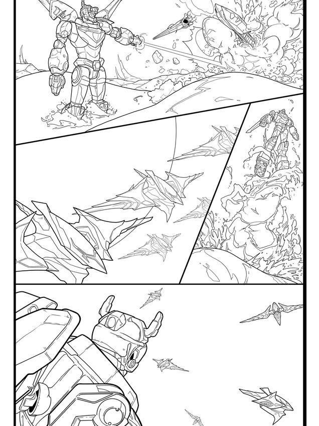 Voltron Legendary Defender: Page 1