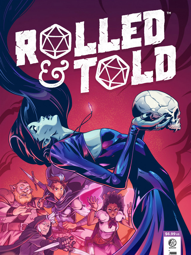 Rolled & Told Cover