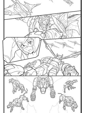 Voltron Legendary Defender: Page 2