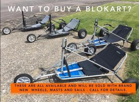 Kiwi Blokarts UK Ex-Demo Karts