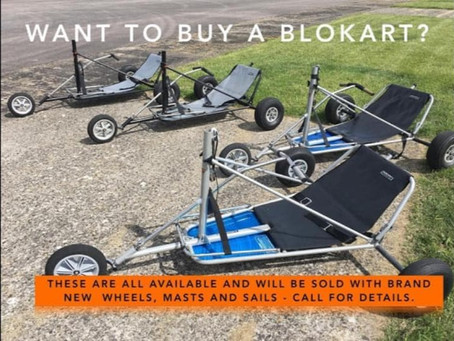 Kiwi Blokarts UK Ex-Demo Karts