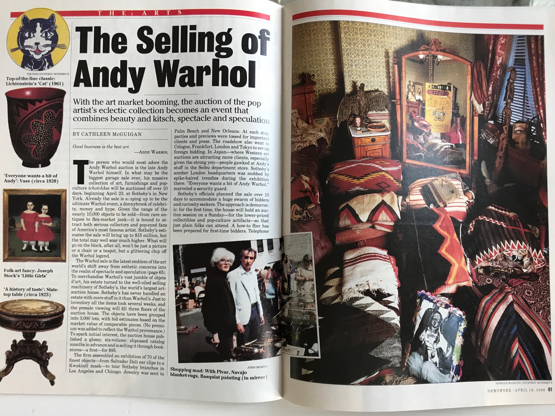 The Selling of Andy Warhol pg.1
