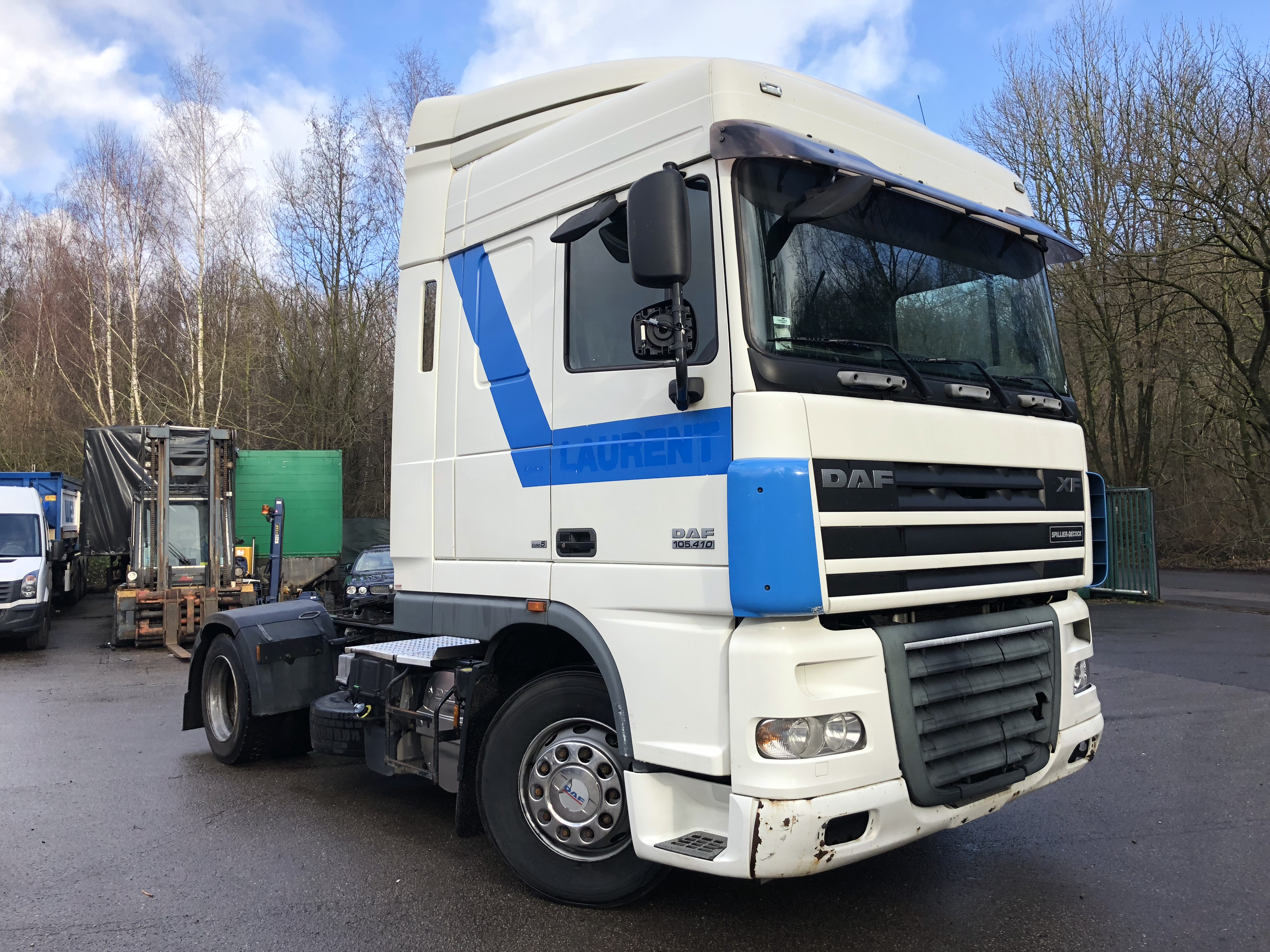 DAF XF 105.410*SPACECAB