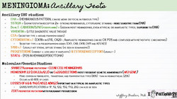 Ancillary tests- meningioma