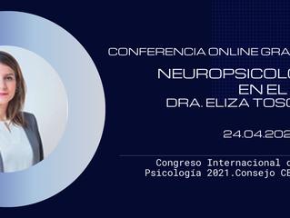 """Conferencia Online Gratuita de Psicología """"Neuropsicología en el 2021"""""""