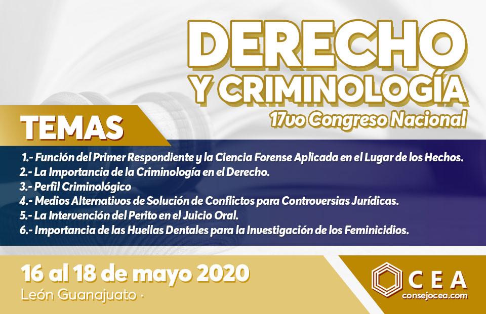 Temas Congreso Nacional de Derecho