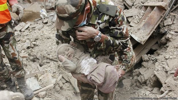 Rescatando un Bebe