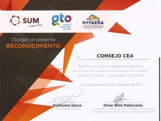 Consejo CEA recibe reconocimiento como Empresa de Alto Impacto