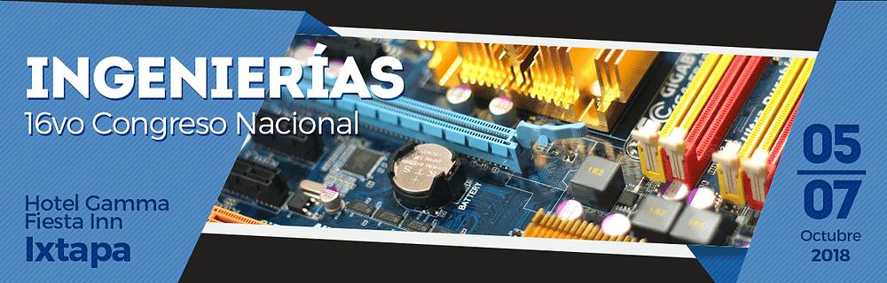 16vo Congreso Nacional de Ingenierías