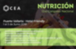 Temas congreso de Nutrición Puerto Valla