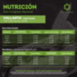Precios congreso de nutricion Puerto Val