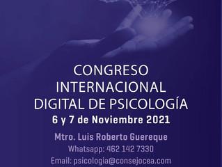 CONGRESO INTERNACIONAL DIGITAL DE PSICOLOGÍA 2021