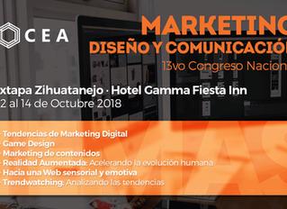 13vo Congreso Nacional de Marketing, Diseño, y Comunicación.
