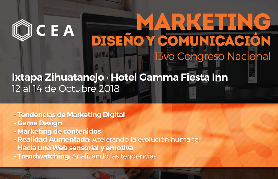 13vo Congreso Nacional de Marketing, Diseño y Comunicación