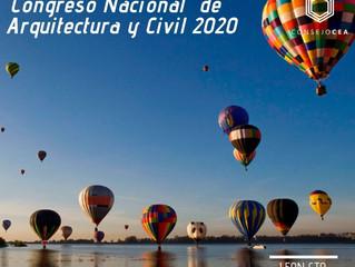 Congreso de Civil & Arquitectura 2020 León Gto. -Investigación Temática