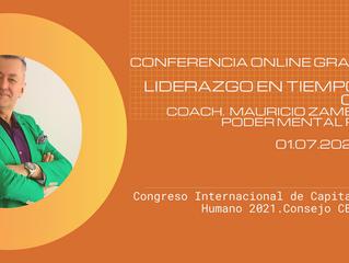 """Conferencia Online Gratuita de Capital Humano """"Liderazgo en tiempos de crisis"""""""