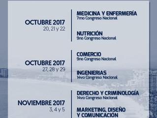 Congresos Nacionales Ixtapa,Zihuatanejo 2017