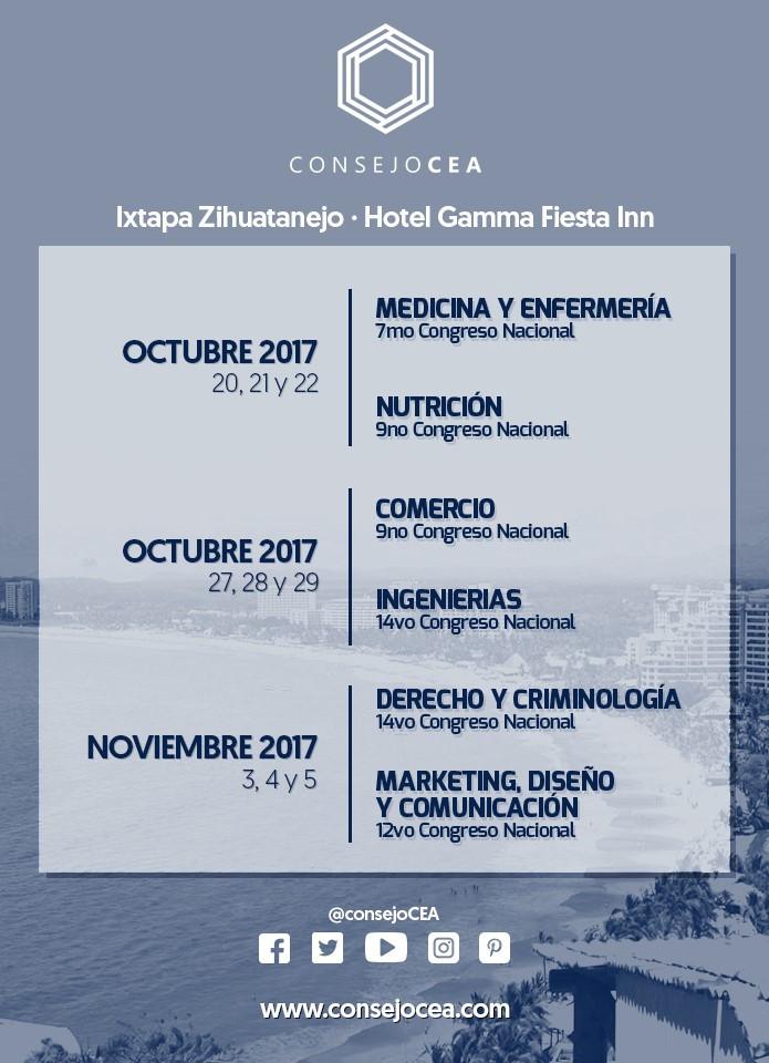 Visita nuestros Congresos Ixtapa 2017