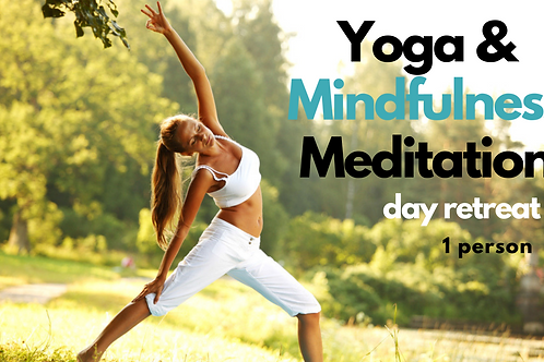 6hr Yoga & Mindfulness Meditation Day Retreat - 2 Tickets