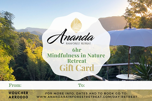 Mindfulness in Nature Day Retreat