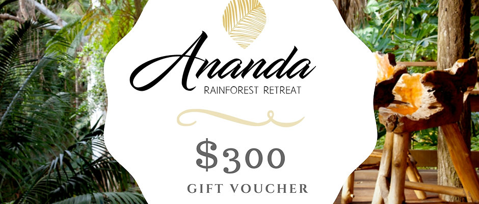 ANANDA $300 Gift Voucher