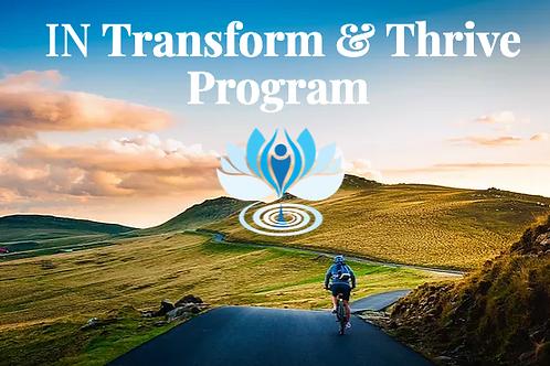 TRANSFORM & THRIVE -  2HR WORKSHOP