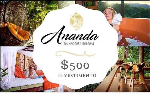 Investimento de AU $500 - ANANDA