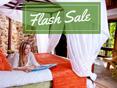 Flash Sale - 2 night Rainforest Treehouse Indulgence