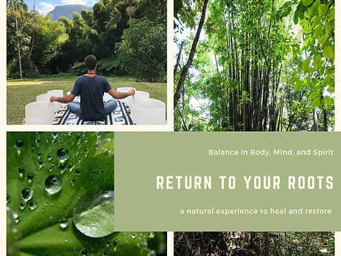 Return to Your Roots Retreat- Price Difference