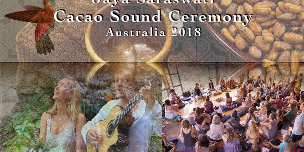Jaya & Saraswati Cacao & Sound Healing Ceremony
